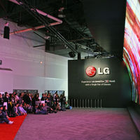 LG's absolutely enormous 3D video wall