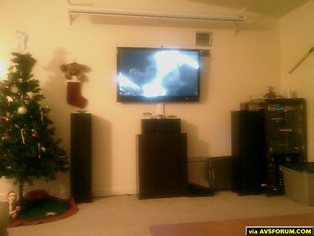 "100"" Da Lite screen (Matt white)