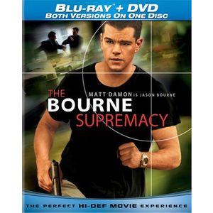 The Bourne Supremacy (Blu-ray + Standard DVD) (Widescreen)