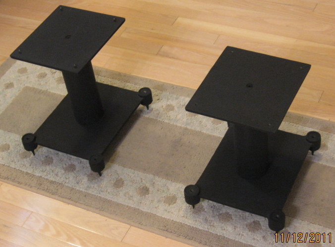 Modded partsexpress speaker stands avs forum home for 12 inch floor speakers