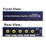 4-WAY SHINYBOW COMPOSITE VIDEO DISTRIBUTION AMPLIFIER, A/V Amplifiers/Extenders/Converters