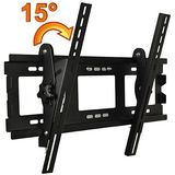 "ATC Professional 34""-50"" LCD 15°Adjustable Angle Plasma Flat-Panel TV Wall Mount Bracket Tilt 15 degrees Adjustable from US VESA up to 600mm X400mm"