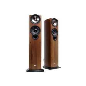 KEF iQ50WA Floor Standing Speaker (Single, Walnut)