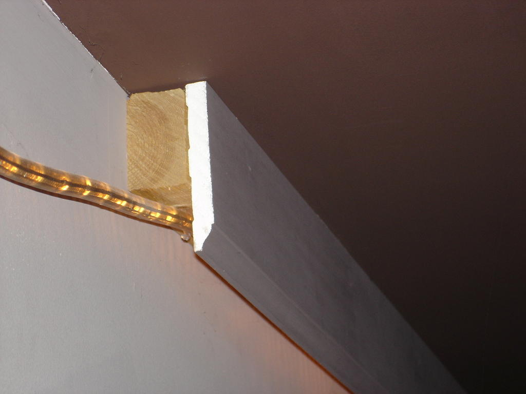 How Much To Install Wall Sconces : cove lighting idea...need opinions - AVS Forum Home Theater Discussions And Reviews