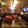 partial bar & game room