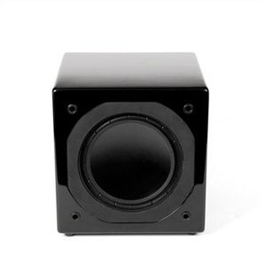 Mirage MM-6 miniature High-Performance Subwoofer (Black)