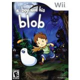 A Boy and His Blob Wii Game MAJESCO