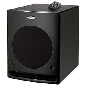 Velodyne DLS3750RB 10-Inch 185-Watt DLS Series Subwoofer with Remote (Black)
