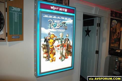 Poster Light box