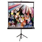 "Matte White Tripod T Portable Screen - 96"" x 96"" AV Format"