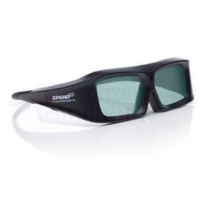 Mitsubishi 3DGX103 XPAND 3D Glass - Black