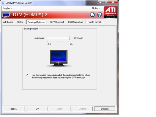 HP 2509m HDMI Display Cut Off - AVS Forum | Home Theater