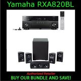 Yamaha AVENTAGE RX-A820 3D A/V Receiver - 7.2 Channel With Martin Logan - MLT-1 - 5.1 Speaker System - Black