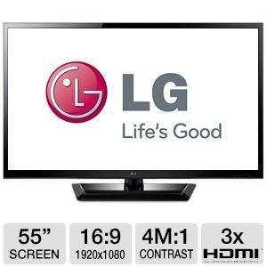 LG Electronics 55 inch 55LM4600 LED LCD Cinema 3D TV, TruMotion