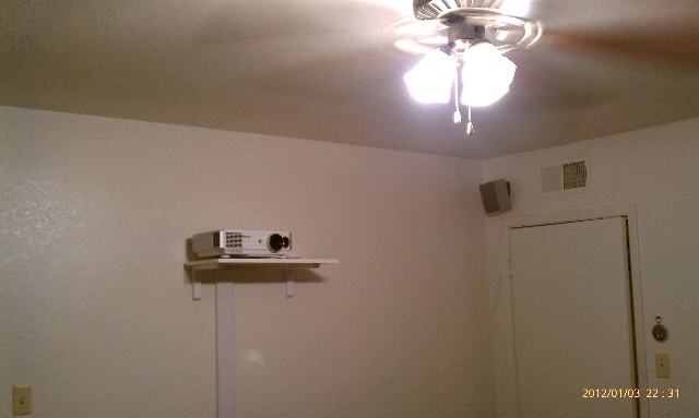 projector in bedroom. LL Small Room Projector Setup  Help needed Suggestions Advice