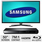 Samsung 50 inch Smart LED 3D HDTV Bundle