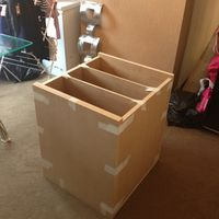 MDF 25MM THICK SUBWOOFER BOX