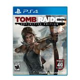 Tomb Raider: The Definitive Edition (Art Book Packaging) - PlayStation 4 Art Book Packaging Edition