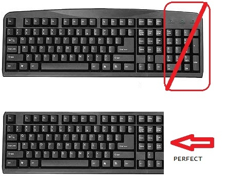 Wired Keyboard No Number Pad : standard wireless keyboard without number pad avs forum home theater discussions and reviews ~ Vivirlamusica.com Haus und Dekorationen