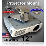 "Projector-Gear Projector Ceiling Mount for SONY VPL-FH36/B with 12"" Extension"