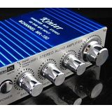 Kinter MA180 MA-180 12V MINI Power Amplifiers Car Computer Amplifier USB Port Charging