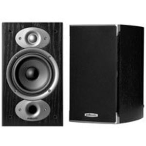 Polk Audio RTI A1 Bookshelf Speakers (Pair, Black)