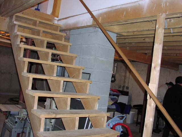unfinished basement stairs. LL Basement Stairs of Death  AVS Forum Home Theater Discussions