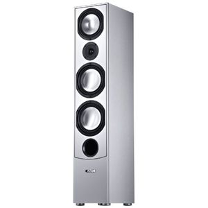 Canton GLE 490.2 Speaker- Single (Silver)