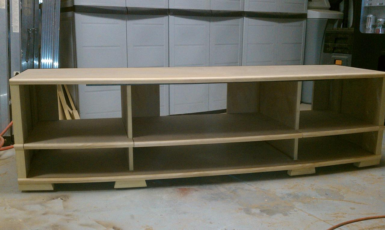 Pdf diy construction plans tv stand download computer desk for Construction stand