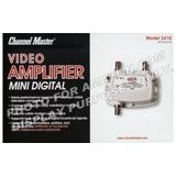 Channel Master 3410 Ultra Mini Distribution Amplifier 50 to 1000MHz with Return Path