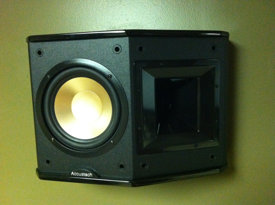BIC Acoustech PL-66 Surround Speaker Front Side