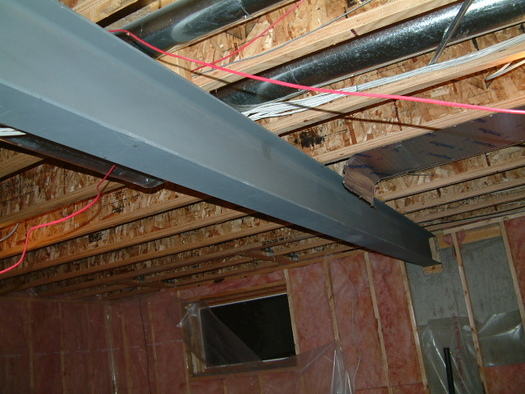 Removing Support Post Under Beam Micro Lam Avs Forum