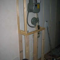 Framing in the stupid gas meter.