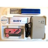 SONY SRF-F1 SPORTSBAND FM STEREO RECEIVER -PINK COLOR-
