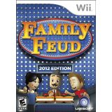 Family Feud 2012 Wii Game UBISOFT