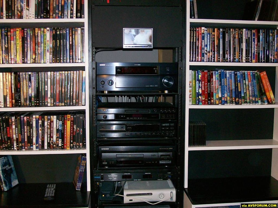 My equipment rack includes: