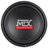 "Brand New MTX Terminator TN10-04 10"" 300 Watts Peak / 150 Watts 4 Ohm Car Audio Subwoofer with Polypropylene Cone and Rubber Surround"