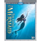 The Little Mermaid (Three-Disc Diamond Edition: Blu-ray 3D / Blu-ray / DVD + Digital Copy + Music)