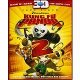 Kung Fu Panda 2 (Three-Disc Combo: Blu-ray 3D/Blu-ray/DVD + Digital Copy)