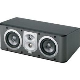 "JBL ES25CBK 3-Way, Dual 5 1/4"" Center Channel Speaker - Black"