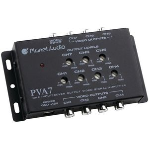 New- PLANET AUDIO PVA7 VIDEO SIGNAL AMPLIFIER