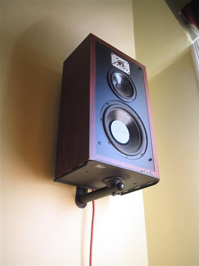 Ideas For Mounting Large Surround Speakers To Wall Avs