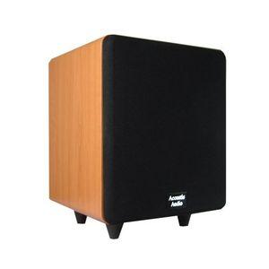 Acoustic Audio Cinema 250 Watt 6.5 inch Powered Subwoofer Home Theater Sub - CS-PS65-C