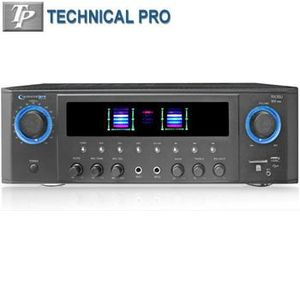 Exclusive Professional Receiver With Usb & Sd Card Inputs By TECHNICAL PRO®