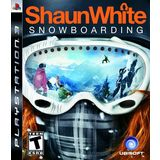 Shaun White Snowboarding Playstation3 Game UBISOFT