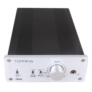 Topping TP41 220V TA2021B Class T-AMP Digital Mini Amplifier with Headphone 25 WPC