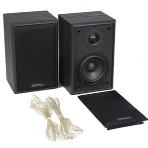 Technical Pro SP2S Book Shelf Surround Speakers (Pair) BLACK