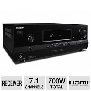 Sony STRDH520 7.1 Channel 3D AV Receiver