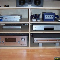 myryadz122 dvd,philips dvdr70 recorder,tannoy mercury speakers,ps2,gamecube,sony str-db790 amp.