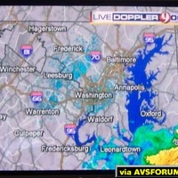 WUSA-DT's weather Radar on 9.2.  This is the first 1080i station to run a Weather Radar in the DC area.